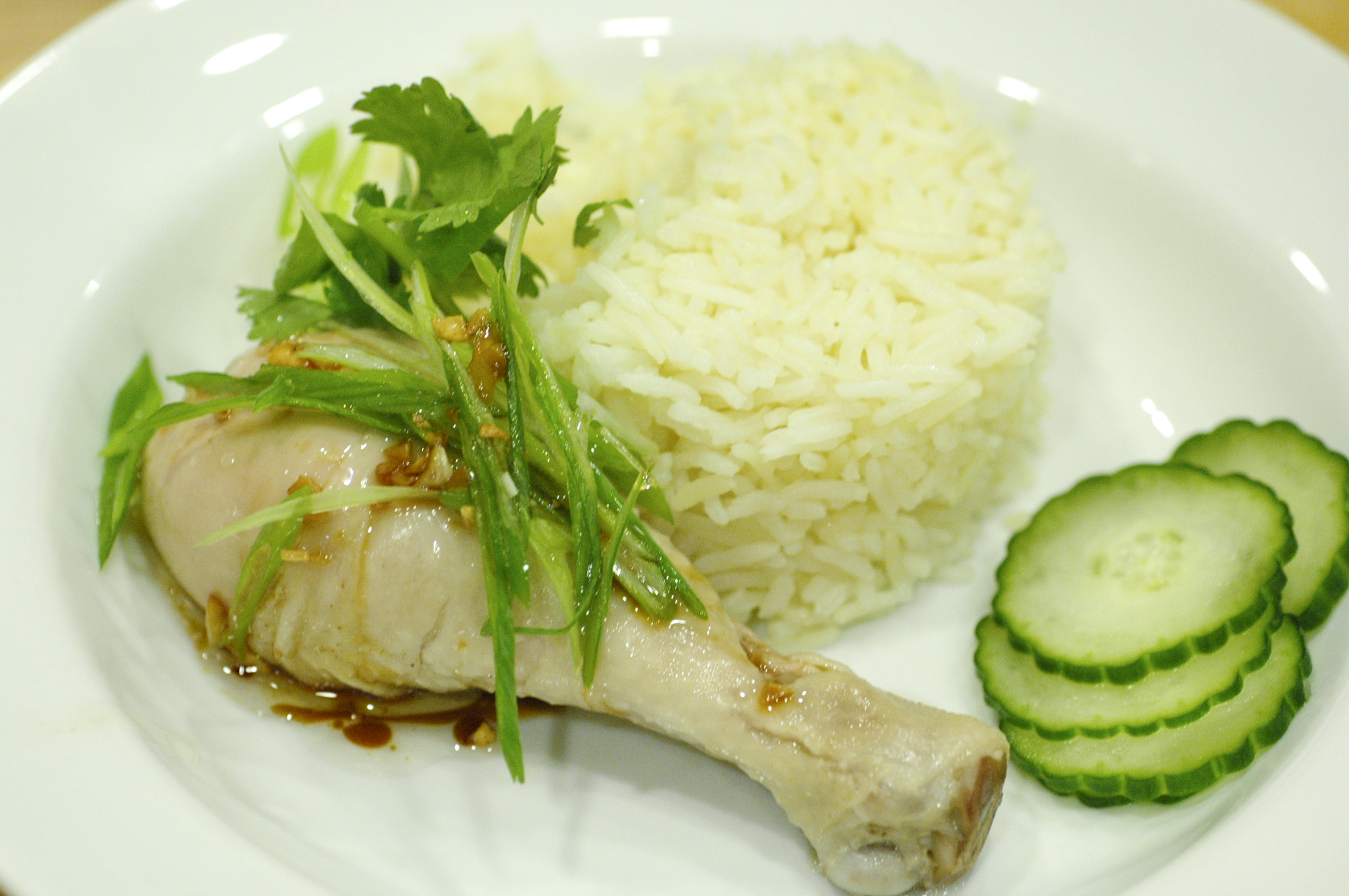 FLAVOR EXPLOSIONS » Blog Archive » Hainanese Chicken Rice