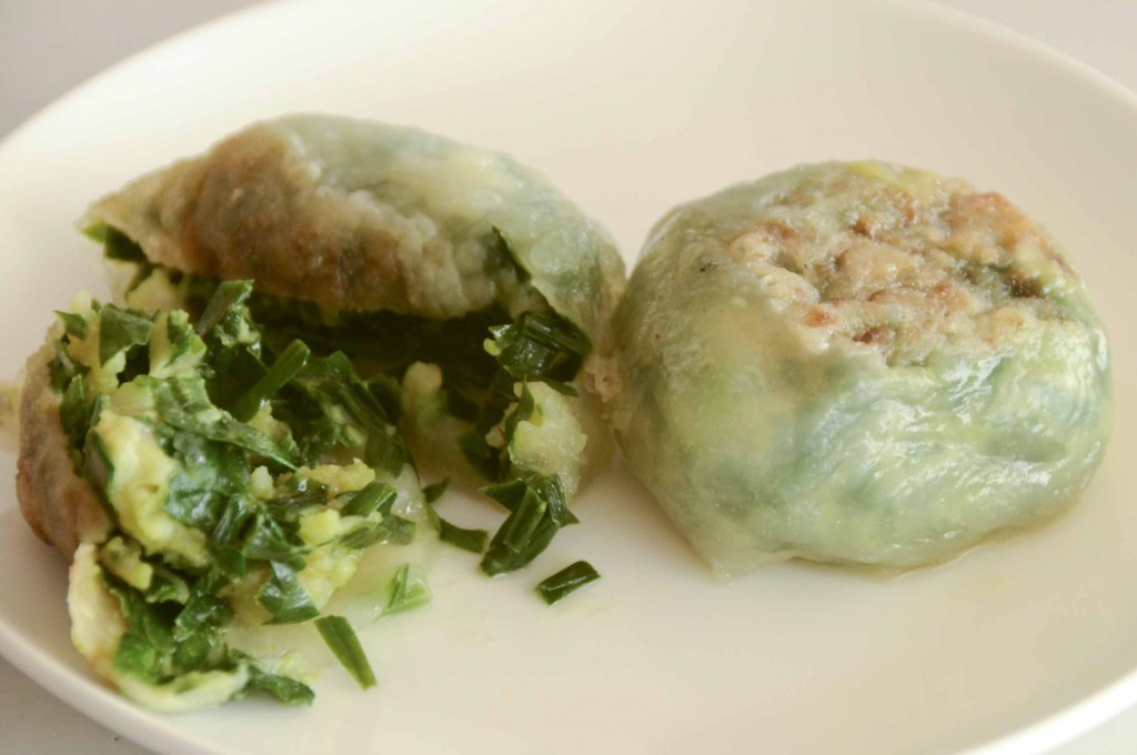 ... shrimp these are chive dumplings shrimp and chive dumplings shrimp and