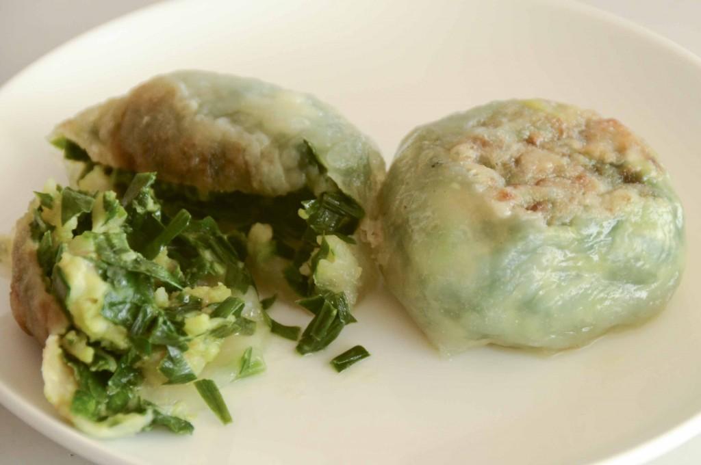 Chinese pork leek dumpling recipe